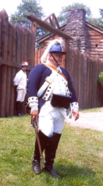 Officer at Fort Delaware