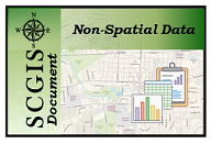 Non-Spatial Data Application Icon