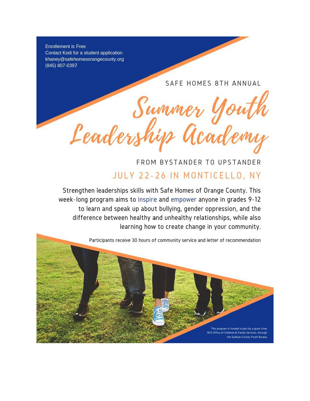 2019 Summer Youth Leadership Academy