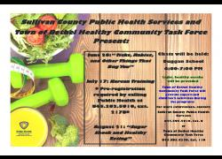 Bethel Health Chats poster