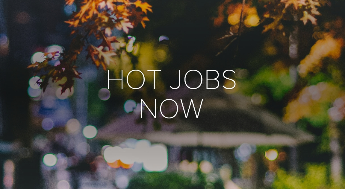 Hot Jobs Now clickable