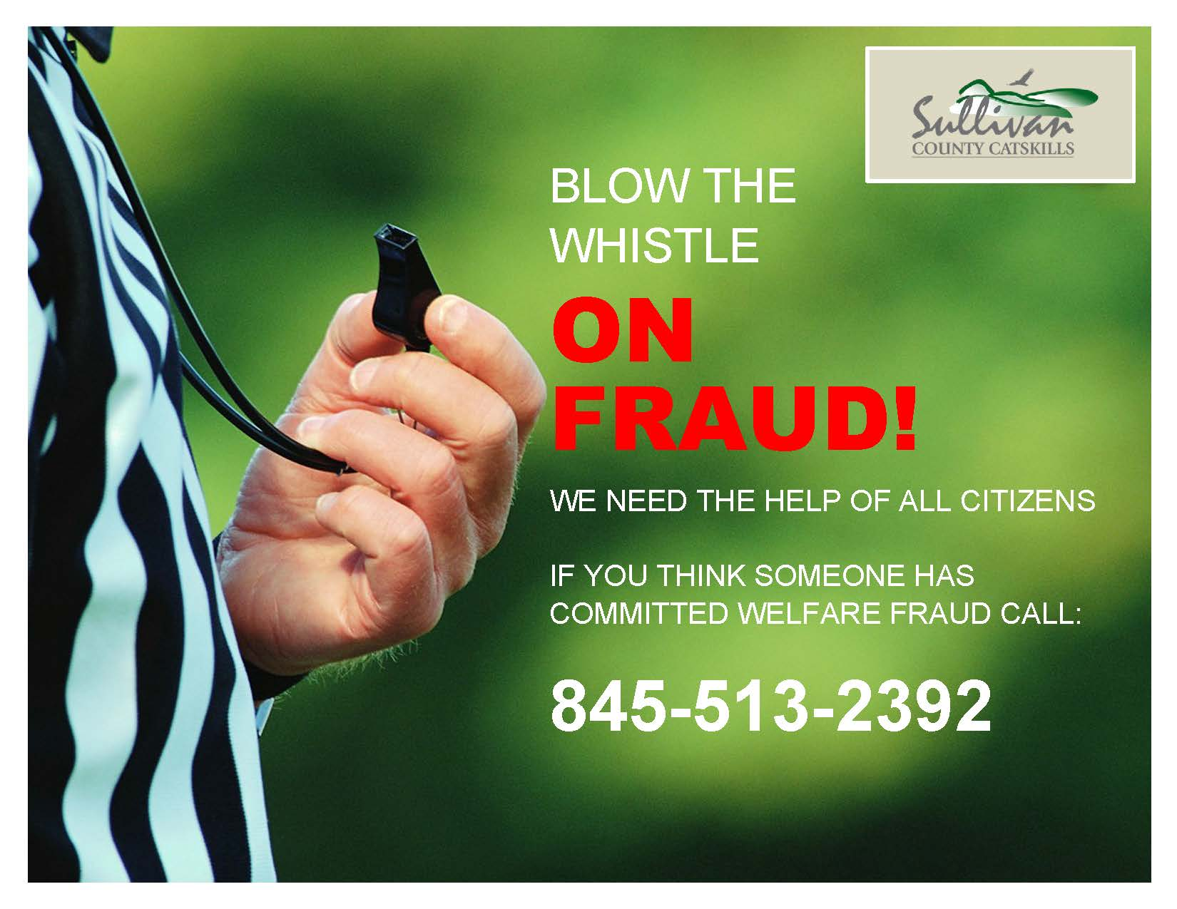 Anti-Fraud Flyer